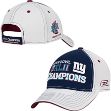 e4b0d5cd2 New York Giants Tee Shirt image. New York Giants Super Bowl® XLII Champions  Reebok® ...